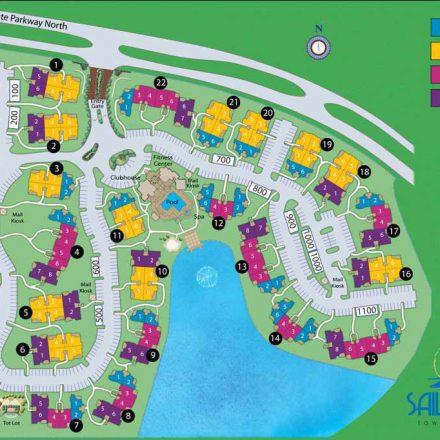 Sail Cove Condominiums Siteplan