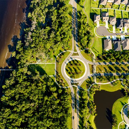 rivertown aerial