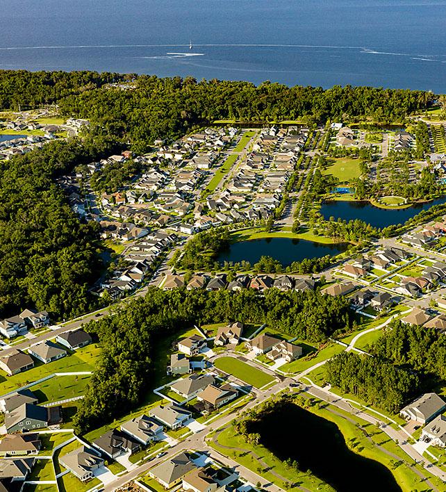 Aerial of RiverTown
